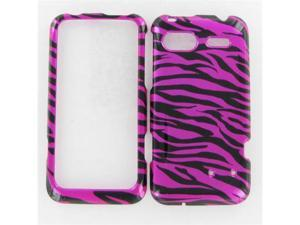 HTC Radar 4G Zebra on Hot Pink (Hot Pink/Black) Protective Case