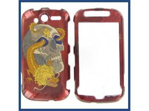HTC MyTouch 4G 2010 Skull w/ Dragon Protective Case