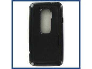 HTC Evo 3D Crystal Black Skin Case