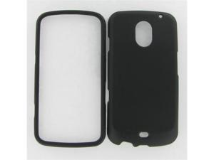 Samsung i515 (Galaxy Nexus) Black Rubber Protective Case