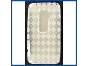 HTC Evo 3D Crystal Clear White Skin Case