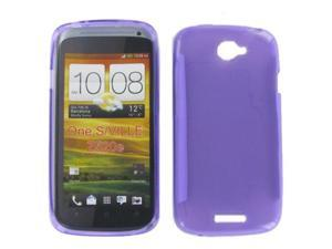 HTC ONE S Crystal Purple Skin Case