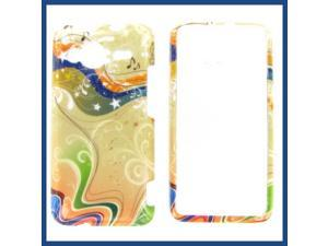 HTC Evo Shift 4G Yellow Milky Way Protective Case