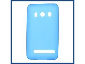 HTC Evo 4G Crystal Skin Case Blue
