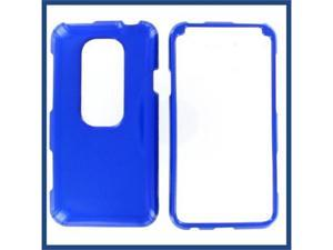 HTC Evo 3D Blue Protective Case
