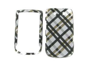 Blackberry 9800 / 9810 (Torch) Black Plaid Protective Case