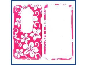 HTC Evo 3D Pink Hawaii Protective Case