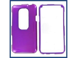 HTC Evo 3D Purple Protective Case