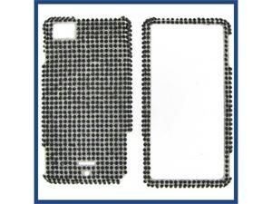 Motorola MB810 (DROID X) / MB870 (DROID X2) Full Diamond Black Protective Case