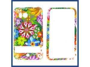 HTC Thunderbolt Magic Flowers Protective Case