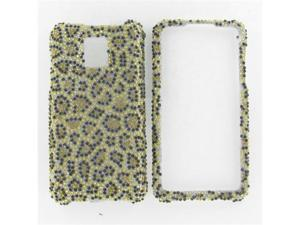 LG G2X (Optimus 2X) Full Diamond Leopard Protective Case