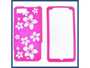 Motorola MB810 (DROID X) / MB870 (DROID X2) illusion Hawaii (Hot Pink) Protective Case