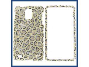 Samsung i997 (Infuse 4G) Full Diamond Leopard Protective Case