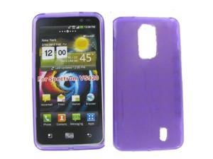 LG VS920 (Spectrum) Crystal Purple Skin Case
