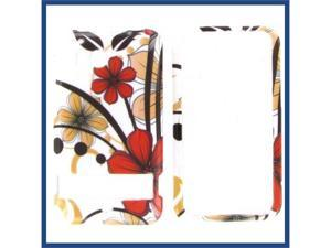 HTC Thunderbolt Six Petal Flower Protective Case