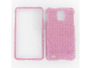 Samsung i997 (Infuse 4G) Full Diamond Pink Protective Case