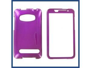 HTC Evo 4G Purple Protective Case