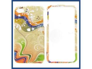 Apple iPhone 4/CDMA/4S Yellow Milky Way Protective Case