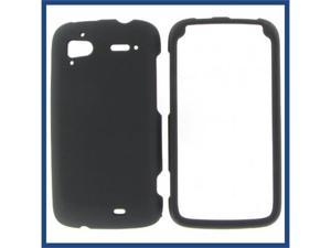 HTC Pyramid / Sensation 4G Black Rubber Protective Case