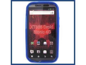 Motorola XT865 (DROID Bionic) Crystal Blue Skin Case