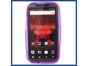 Motorola XT865 (DROID Bionic) Crystal Purple Skin Case
