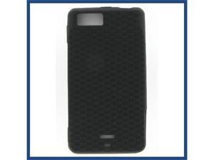 Motorola MB810 (DROID X) / MB870 (DROID X2) Black Skin Case