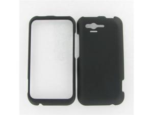 HTC ADR6330 (Rhyme) Black Rubber Protective Case