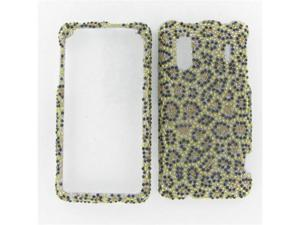 HTC EVO Design 4G Full Diamond Leopard Protective Case