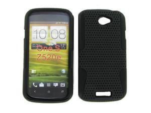 HTC ONE S Hybrid Case Black TPU + Black Net