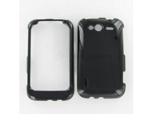 HTC Wildfire S (GSM) Black Protective Case
