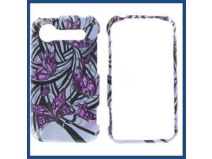 HTC Incredible S / Incredible 2 Purple Butterfly Protective Case