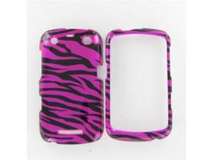 Blackberry 9350/9360/9370 (Curve) Zebra on Hot Pink (Hot Pink/Black) Protective Case