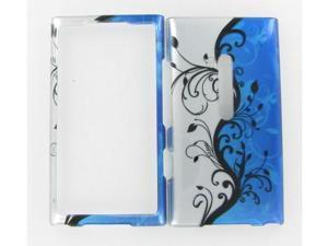 Nokia 900 (Lumia) Blue Vine Protective Case