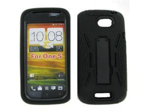 HTC ONE S Black Robotic Case