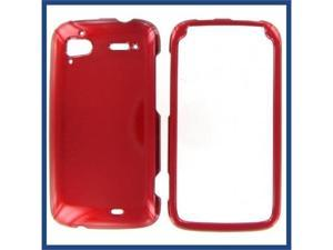 HTC Pyramid / Sensation 4G Red Protective Case