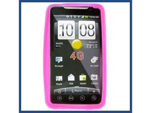 HTC Evo 4G Hot Pink Skin Case