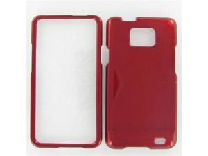Samsung I777 (Galaxy S II AT&T) Red Protective Case