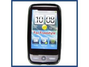 HTC Freestyle Crystal Black Skin Case
