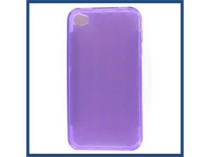Apple iPhone 4/CDMA/4S Crystal Purple Skin Case