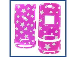 Motorola WX450 Star on Hot Pink Protective Case