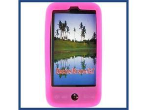HTC G7 (Desire) Skin Case Hot Pink