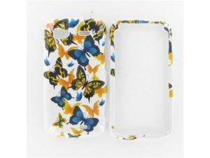 HTC Pyramid / Sensation 4G Yellow Butterfly Protective Case
