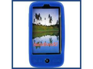 HTC G7 (Desire) Skin Case Blue