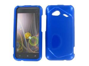 HTC 6410 Fireball Droid Incredible 4G LTE Blue Protective Case