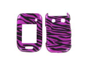 Blackberry 9670 (Style) Zebra on Hot Pink (Hot Pink/Black) Protective Case