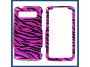 HTC Trophy Zebra Hot Pink (Hot Pink/Black) Protective Case