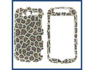 HTC MyTouch 4G 2010 Full Diamond Leopard Protective Case