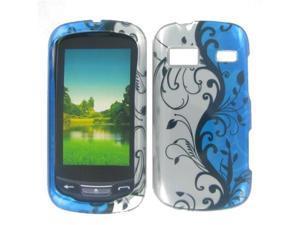 LG C395 (Xpression) Blue Vine Protective Case