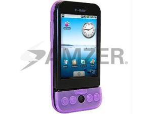 Amzer Silicone Skin Jelly Case - Purple Lilac