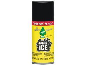 2.5oz. Little Tree in a Can Aerosol Spray Fragrance - Black Ice